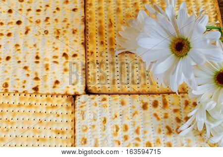 Passover Jewish Food Pesach Matzo And Matzoh Bread
