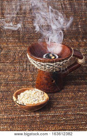 Pure Ethiopian incense  frankincense Messer (Boswellia papyrifera)