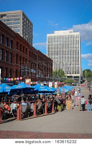 Market Square Boardwalk, Saint John Nb