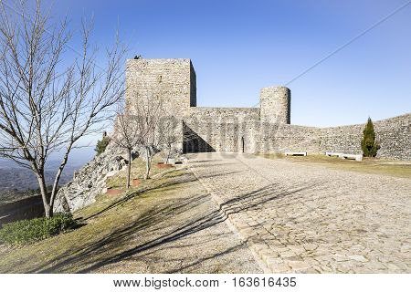 Ancient Castle in Marvão town, Portalegre District, Portugal