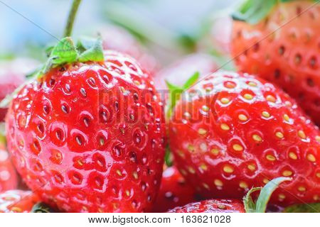 Sweet Strawberry. Fresh strawberry. Red sweet strewberry.