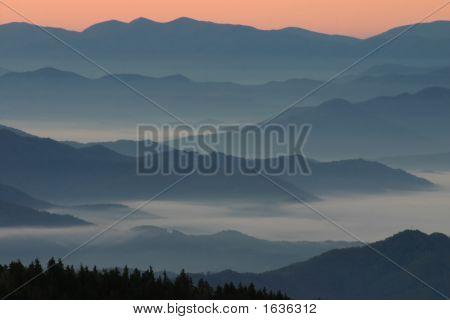 Landscape Mountain Appalachian Sunrise