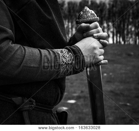 The Danish viking warrior. Shot in Denmark
