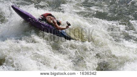 Water Kayak People Action0001