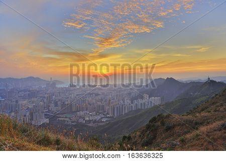 Fei Ngo Shan View Of Hk 2016