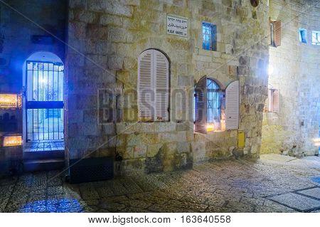 Hanukkah In The Jewish Quarter, Jerusalem