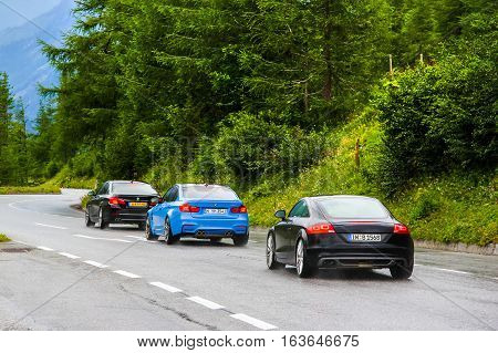 Sport Cars Bmw F30 3-series, Bmw F80 M3 And Audi Tt