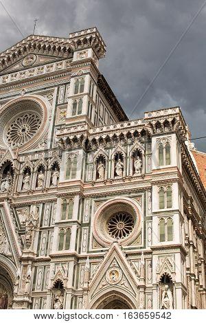 Il Duomo Detail, Florence