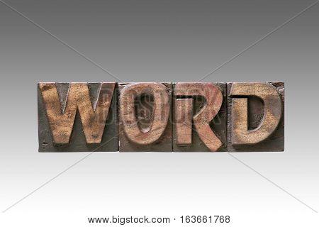 Word Vintage Type