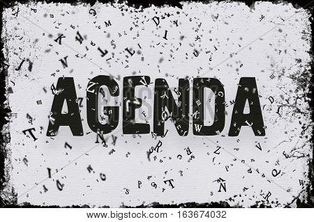 Agenda, Web Development Technology, Agenda 3D Render