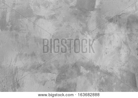 close up background and texture of cement Smooth plastered wall painted in making your skin polished