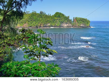 Onomea Bay In Hawaii