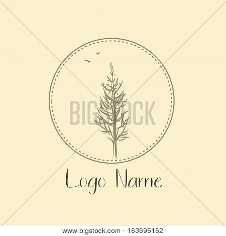 Growth concepts, business emblems and signs - tree and bush labels
