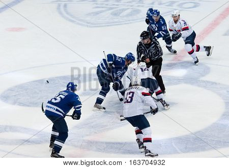 Z. Jeglik (12) And A. Rybakov (12) On Faceoff
