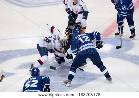 Z. Jeglic (14) And A. Rybakov (12) On Faceoff