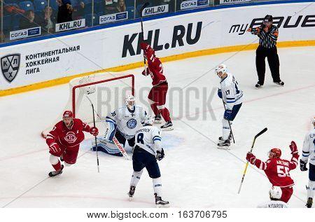Score In Dynamo Minsk Team
