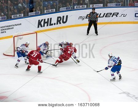Yury Koksharov (27) Fall Down