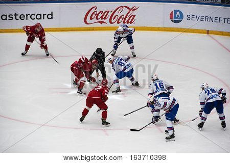 A. Shvets-rogovoy (57) And V. Shipachev (87) On Faceoff