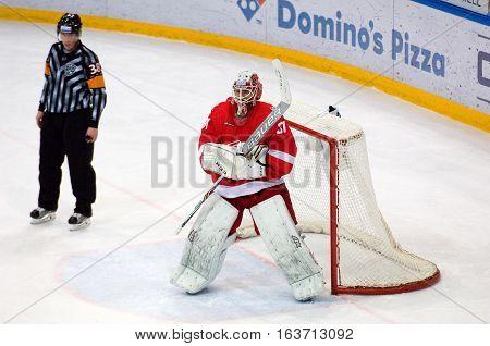 N. Bespalov (31) Catch A Puck