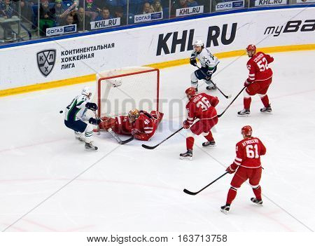 I. Saprykin (40) In Action