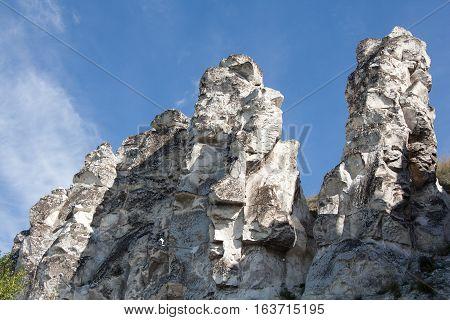 Cretaceous poles - remnants of ancient sea, called
