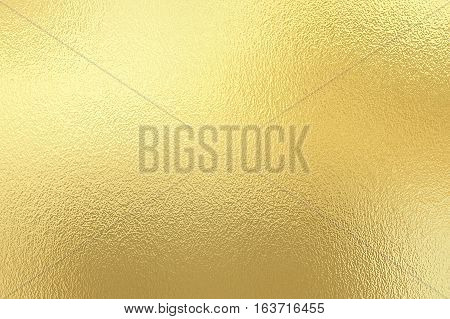 Gold foil paper decorative texture background for artwork.