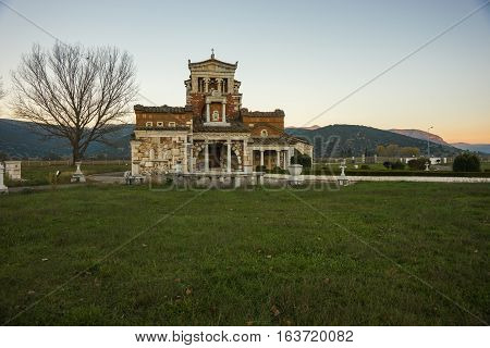 Church At Ancient Mantineia, Arcadia, Peloponnese, Greece