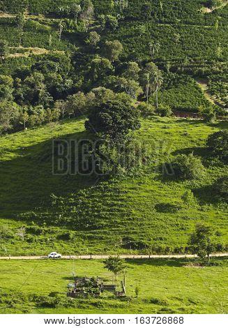 Minas Gerais Landscape, Brazil