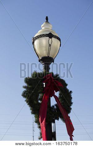 Wreath On A Pole