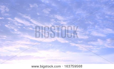 Silhouette sunrise sky and cloud soft color Photography has reflex radius made to presentation background.