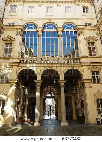 Palazzo Di Citta In Turin