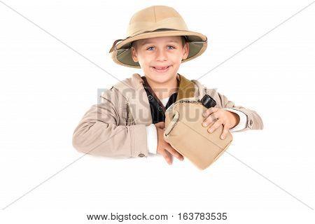 Boy In Safari Costume
