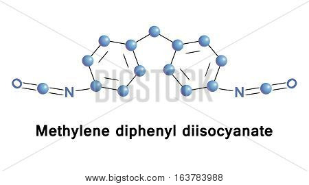 Methylene diphenyl diisocyanate is an aromatic diisocyanate.