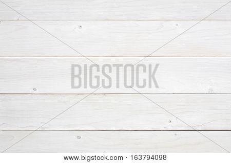 top view horizonta blank white vintage wood table wall or floor for work and place object or wooden board for food preparation in the kitchen and use for background