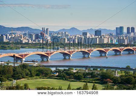 Cityscape Of Seoul