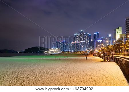 Night View Of Haeundae
