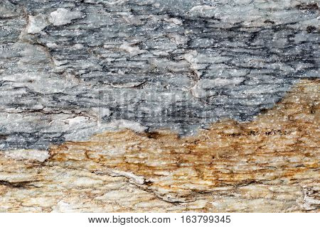 Detailed Stone Surface Texture, Blue And Brown Marble Slabs With Cracks, Detailed Structure Of Stone