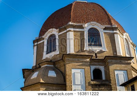 Dome of Florence where Medici are cremated, Italy
