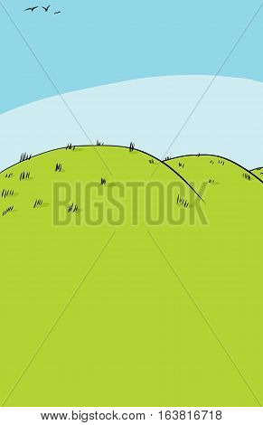 Background Of Rolling Hills