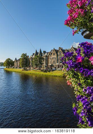 Inverness In Scottish Highlands