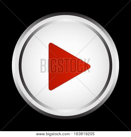 Play icon, multimedia player, multimedia play button