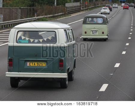 Green Volkswagen Vans In Luton