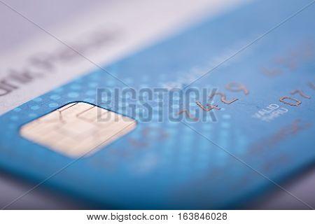 Credit Card In Close Up