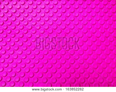 close up pink Eva foam texture background