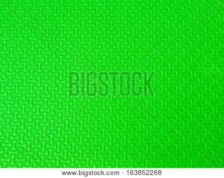 close up Green Eva foam texture background