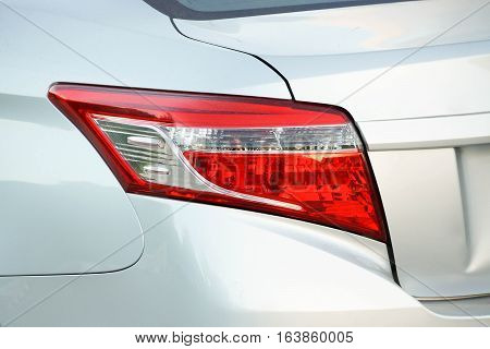 Rear light of a car / part of car
