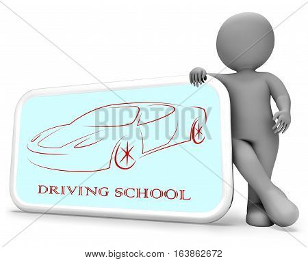 Driving School Indicates Learning To Drive 3D Rendering