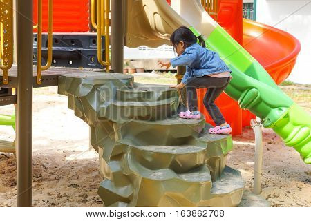Colorful playground for kids / Outdoor playground