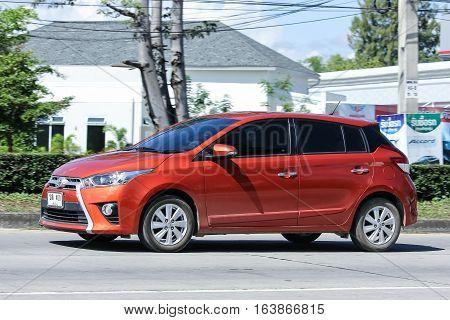 Private Car, Toyota Yaris.