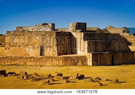 Astronomical Observatory, Ruins Of Of Monte Alban - Oaxaca, Mexico